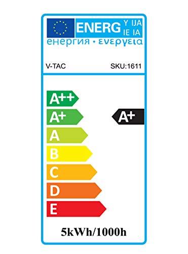 Preisvergleich Produktbild V-TAC 1685 5 W GU10 Led Strahler Spot Einbaulampe 220 - 240 V SMD LEDs 3000 Kelvin warmweiß VT-1975