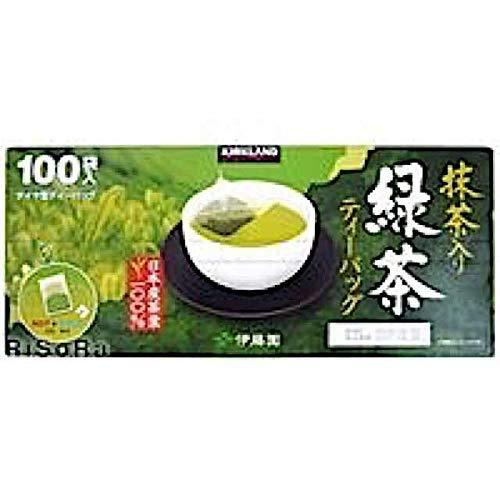 伊藤園 KIRKLAND IGNATURE カークランドシグネチャー 緑茶 ティーパック ナイロンフィルター 100 袋