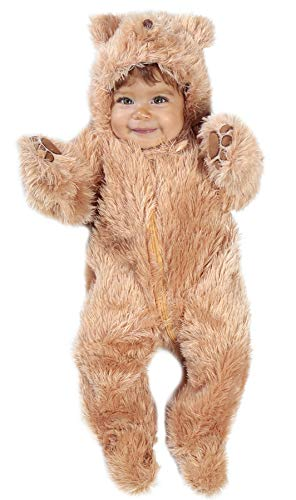 Princess Paradise Baby's Snuggle Bear Deluxe Costume, As Shown, 0/3M