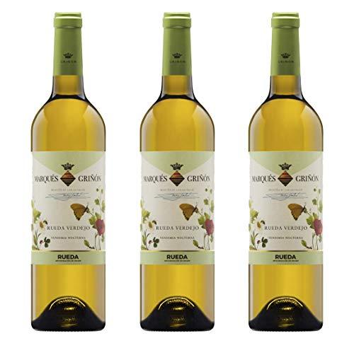 Marqués de Griñón Rueda Verdejo - 3 botellas de 750 ml - Total: 2250 ml