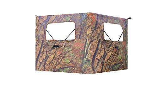 ALPHA CAM Compact Two-Panel One-Way See-Through Hunting Blind