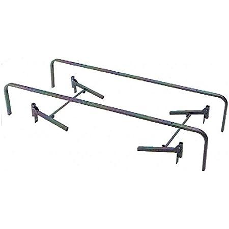 Bonitex Estructura de Cama Canguro: Patas metálicas y HERRAJES de Cama Nido Inferior y Superior para Bases TAPIZADAS 80x190cm o 90x190cm