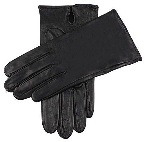 Dents Noir Skyfall cuir gants - Grand de