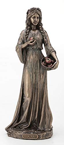 Veronese Design Bronze Finish Idunn Norse Goddess of Spring and Youth Statue