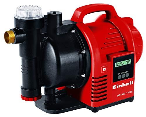 Einhell Pompe d'arrosage automatique GC-AW 1136 (1100 W, Hauteur d'aspiration 7 m, Câble d'alimentation 1,5 m, Corps en PVC,...