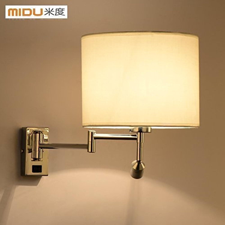 StiefelU LED Wandleuchte nach oben und unten Wandleuchten Schlafzimmer Bett Wohnzimmer lampe Schwenkarm Wandleuchten hotel zimmer Wandleuchte Werke geführt.