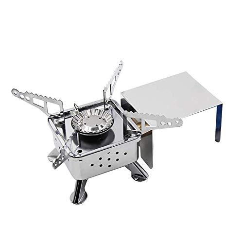 Oppal Mini Estufa de Casete portátil al Aire Libre Estufa de Gas para Acampar Estufa de té para cocinar, Bricolaje casero para el día de Pascua (Multicolor)