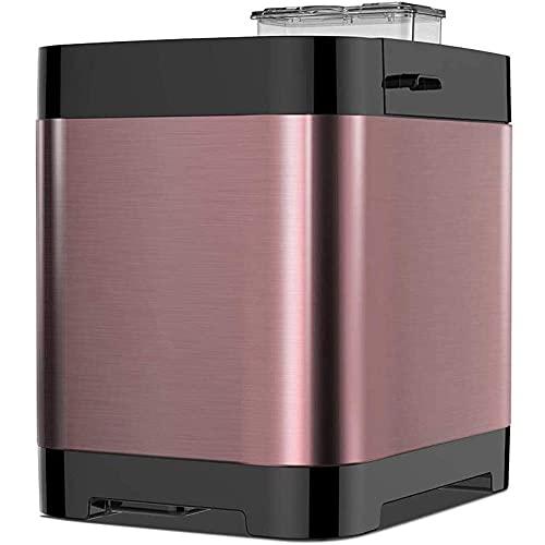 LITINGT Máquina de Pan automática Fuerte, panificadora rápida Inteligente, táctil Completamente automática de 450 W, Pantalla LCD, 3 Colores quemados, 18 menús, Hora de Cita, fructificación automáti