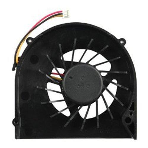 DBParts - Ventilador de CPU compatible con Dell Inspiron 15R M5010 N5010 M501R, P/N: MF60120V1-B020-G99 MG65130V1-Q000-S99 60.4HH13.002 DFB451005M20T 03T25W, conector de 3 cables, DC5V 0.5A