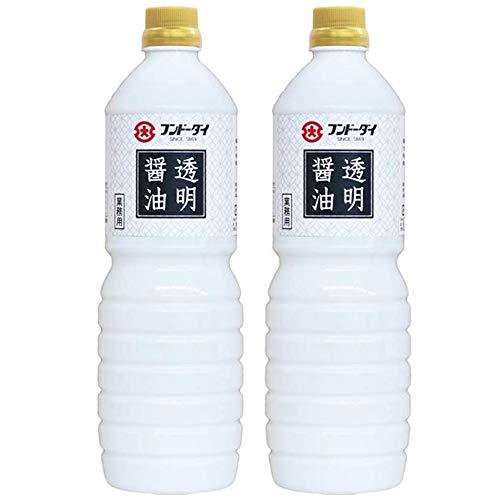 フンドーダイ 透明醤油 1000ml (2本)