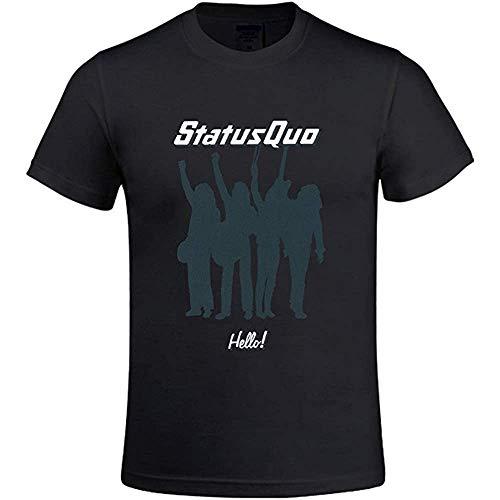 Status Quo Hello Men's T Shirts with Designs Round Neck