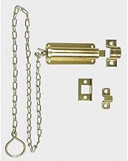 Spring Loaded Chain Bolts, Brass