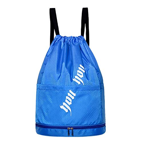 XIXIAO Swimming Bag Wet And Dry Separation Portable Swimsuit Storage Bag Waterproof Bag Men'S Swimming Equipment Shoulder Beach Bag for Ladies Weekender Travel