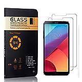 Bear Village® Displayschutzfolie für LG G6, 9H Härtegrad Displayschutz, Keine Luftblasen, 3D Touch Schutzfilm aus Gehärtetem Glas für LG G6, 2 Stück -