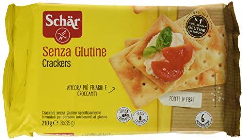 Schär Crackers - 5 Confezioni, 1050 Grammo