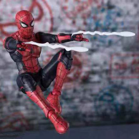 Carácter Figura De Acción De Nueva Battlesuit Spider-Man Modelo-Movable Articulaciones Muñeca De...