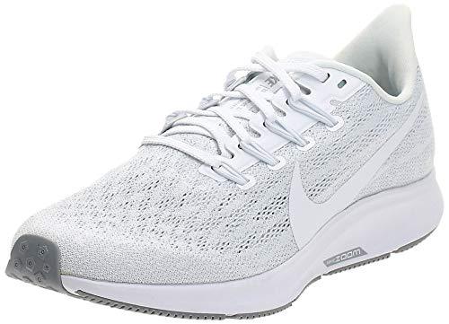 Zapato deportivo Nike Air Zoom Pegasus 36 para correr, para mujer, blanco, 8.5