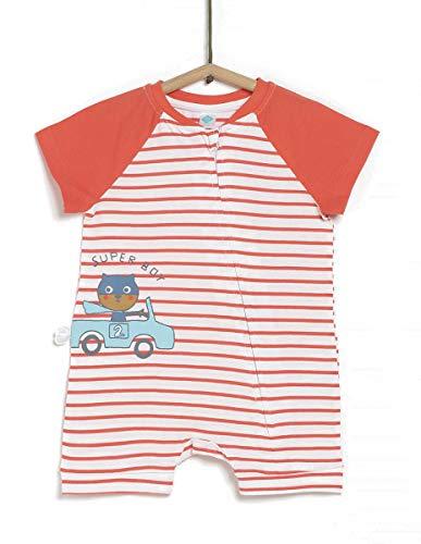 TEX - Pijama Corto Estampado de Bebé, Mango, 18 Meses
