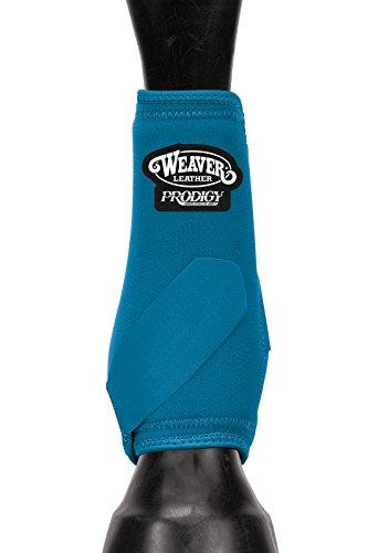 Weaver Leather Prodigy Lot de 4 Bottes de Sport Taille M Turquoise