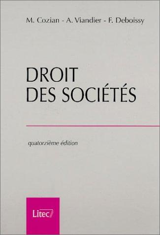 Droit des sociétés, 14e édition (ancienne édition)