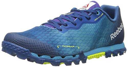 Reebok Men's All Terrain Super 2.0-m, Neon Blue/Handy Blue/Instinct Blue/Solar Yellow, 9 M US