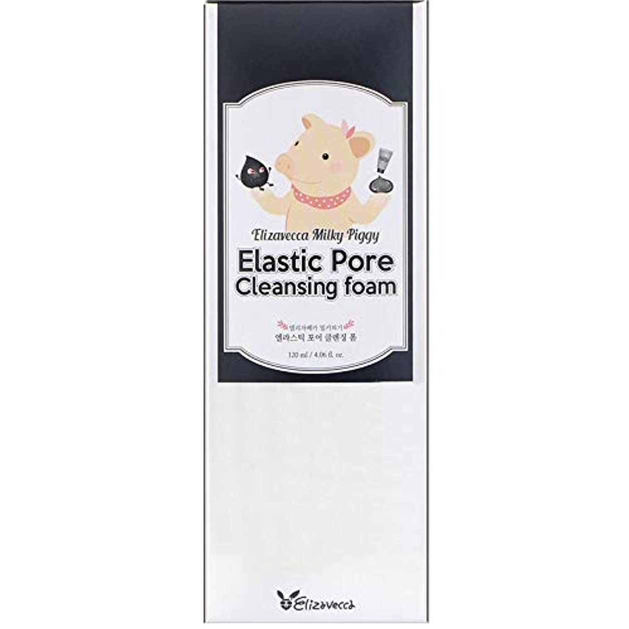 ELIZAVECCA Elastic Pore Cleansing Foam (並行輸入品)