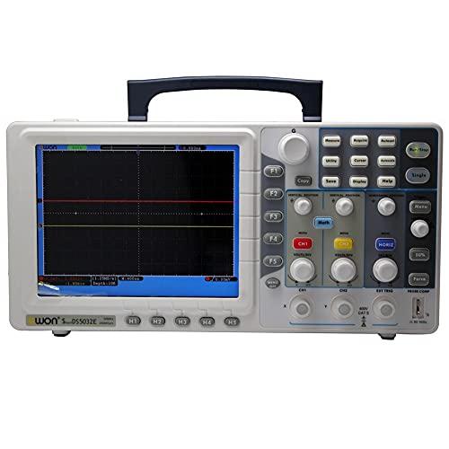 """GNLIAN HUAHUA osciloscopio Ultrafino 30MHz OWON STARCHE Digital STARCHE SDS5032E 250MHZ / S 8""""TFT VGA"""