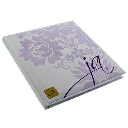 Goldbuch Gästebuch mit Lesezeichen, Ja, 23 x 25cm, 176 weiße Blankoseiten Schreibpapier,...