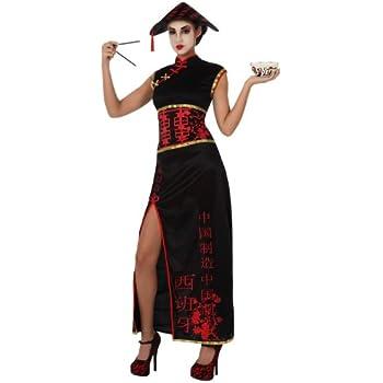 Atosa - Disfraz de china para mujer, talla 42-44 (10033): Amazon ...