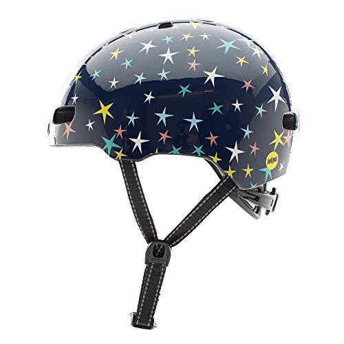 Nutcase Kinder Fahrradhelm Little Nutty MIPS Gloss, Stars Are Born, 48-52 cm, 10001