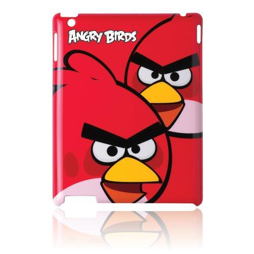 GEAR4 Angry Birds Schutzhülle für Tablet (Tasche, Apple, iPad 2, Schwarz, Rot)