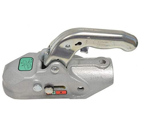 FKAnhängerteile 1 x Knott - Kugelkupplung - K35-A - 3500kg - Ø50mm - Bohrungen 12,5/12,5mm