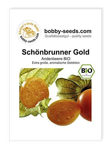 Bobby-Seeds BIO-Samen Andenbeere Schönbrunner Gold Portion