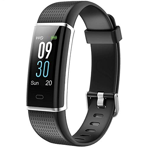 Icefox Fitnessarmband, fitnesstracker, smart horloge, waterdicht IP67, bluetooth-activiteitstracker met en stappenteller