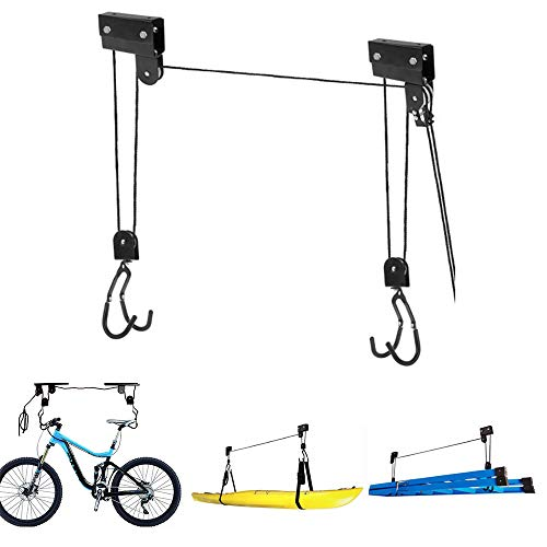 Roeam Soporte Pared Bicicletas,Cuelga bicis Pared,Soporte Bicicletas Techo,25KG/50KG