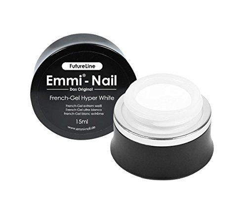 Emmi-Nail Futureline Gel pour French manucure Hyper White 15 ml
