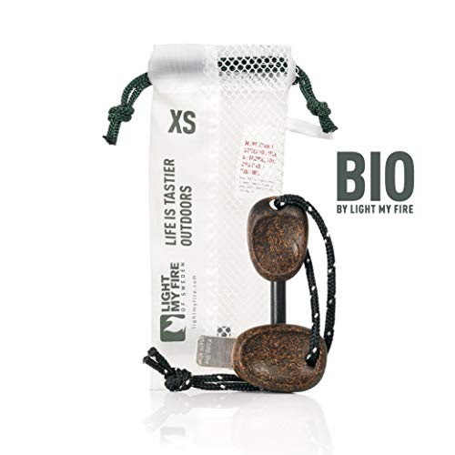Light My Fire FireSteel Scout Magnesium Firestarter BIO, Cocoshell