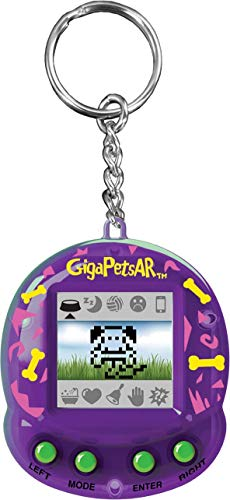Giga Pets AR Puppy Virtual Animal Pet Toy 2nd Edition, Purple