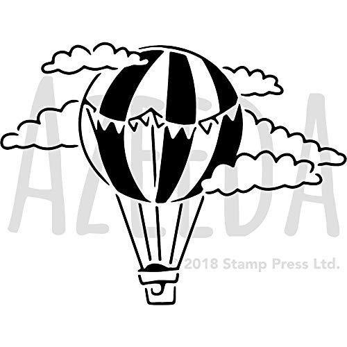 Large A2 'Hot Air Balloon' Wall Stencil / Template (WS00028913)