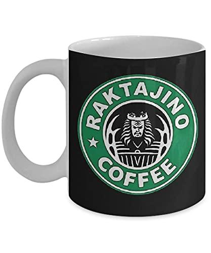 N\A Raktajino Kaffee Kaffeetasse, lustig, Tasse, Tee, Geschenk für Weihnachten, Vatertag, Weihnachten, Vater, Jahrestag, Muttertag, Papa, Herz, Weihnachtsmann