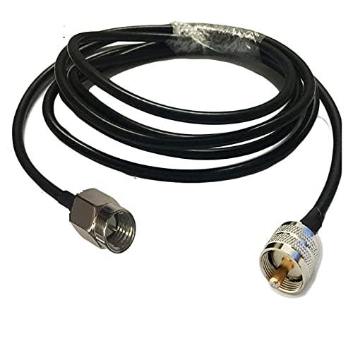 Vernacular Apto para níquel SMA Macho a UHF PL259 Conector Macho RG58...
