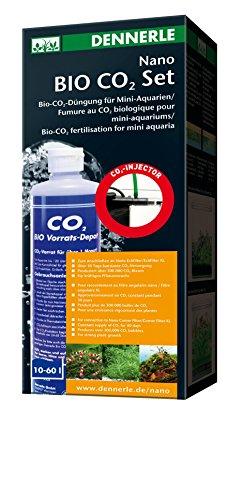 Dennerle 5692 Nano Bio CO2 Komplett-Set - CO2- Düngung für Nano Aquarien