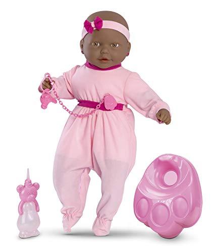 Boneca New Bebê Mania - Xixi Roma Jensen Negra