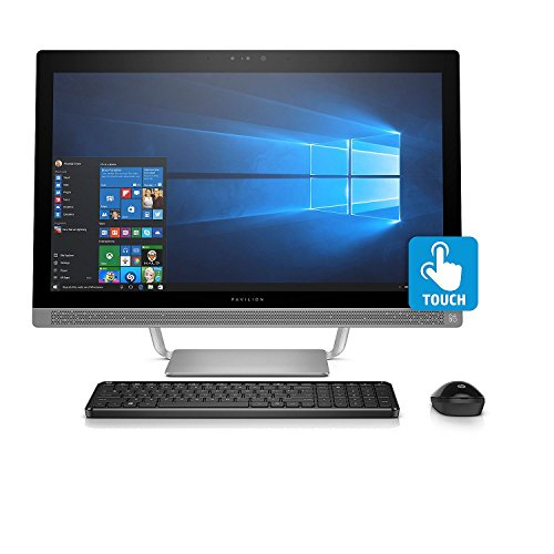 HP Pavilion Touchscreen Full HD 23.8' All-in-One Desktop, Intel Core i5-6400T Processor, 8GB Memory, 1TB Hard Drive, 2GB NVIDIA GT930MX GDDR5 Graphics,...