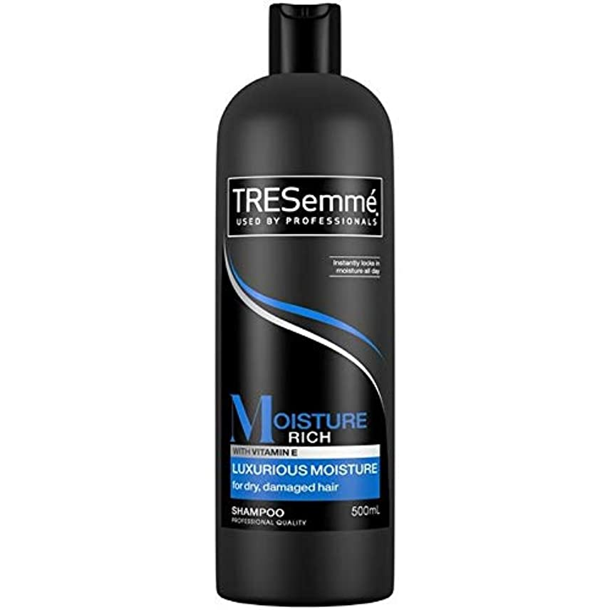 中級退化するブラスト[Tresemme] Tresemme水分豊富なシャンプー豪華な水分500ミリリットル - TRESemme Moisture Rich Shampoo Luxurious Moisture 500ml [並行輸入品]