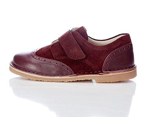 RED WAGON Casual Leather - Zapatos de Cuero Niños