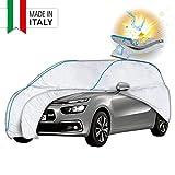 WALSER Telone per auto 31043 in PEVA, copertura impermeabile per auto, garage completo, protezione solare, protezione dai raggi UV