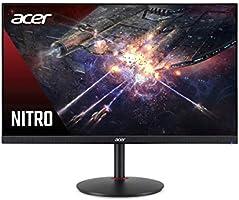 "Acer Nitro XV272U Pbmiiprzx 27"" WQHD (2560 x 1440) IPS Monitor with AMD Radeon FreeSync Technology, 144Hz, 1ms VRB, VESA..."