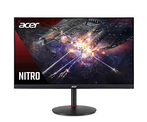 "Acer Nitro XV272U Pbmiiprzx 27"" WQHD (2560 x 1440) IPS G-SYNC Compatible Monitor, 144Hz, 1ms VRB, VESA Certified DisplayHDR400, DCI-P3, Delta E<2"