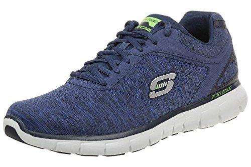 Skechers Synergy-Instant Reaction Herren Fitnessschuhe blau, Größe:48.5;Farbe:Blau